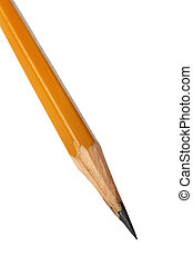 pencil - Sharply perfected pencil on a white background
