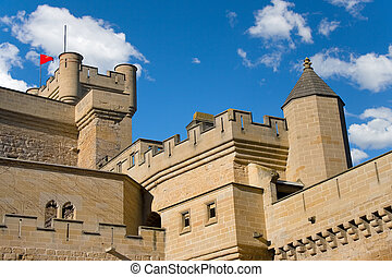 Towers Of Olite\\\'s Castle,