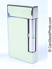 Modern Style Cigarette Lighter - Green Cigarette Lighter...