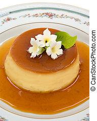 Gourmet Dessert - Creme Caramel dessert