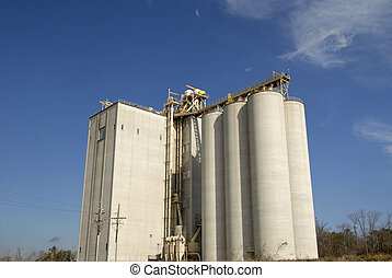 Grain Elevator -  A Large New Grain Elevator