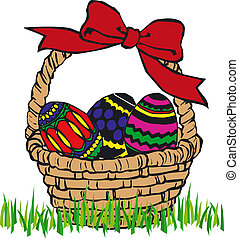Easter Eggs - Illustration of Easter Eggs