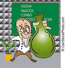 Toonimal Scientist - The Toonimal Scientist - Illustration
