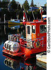 Boats in Tobermory