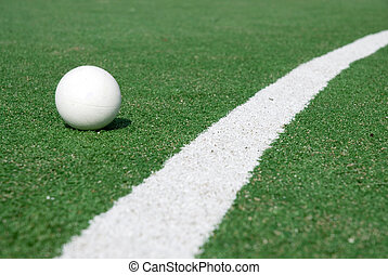 hockey - artificial green grass to play hockey on