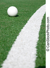 hockey - field with artificial grass to play hockey