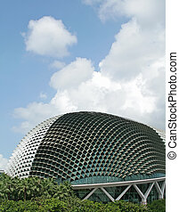 Durian Shaped Structure - The spiky esplanade theatre. Also...