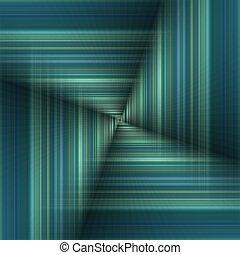 Tunnel like optical illusion