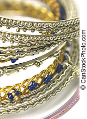 fashion bangles - selection of asian crafted fashion bangles
