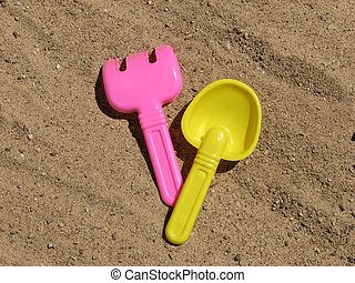 Childs Sand Shovel - Sand shovel to play with in the sand by...