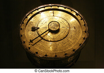 ancient zodiac - ancient golden and circular zodiac