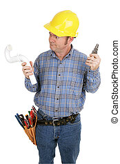 Electrician Not Plumber - Electrician trying to use the...