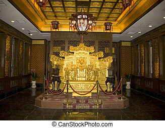 Chinese Emperor\\\'s Throne