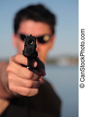 faça, disparar, 6