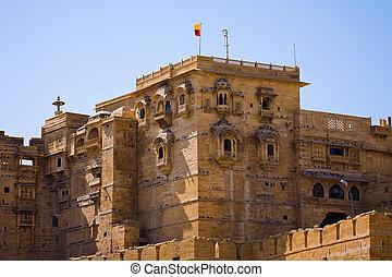 Rajmahal palace - The Rajmahal palace, main building of the...