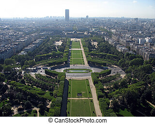 View from the Eiffel Tower - Fantastic view from the Eiffel...
