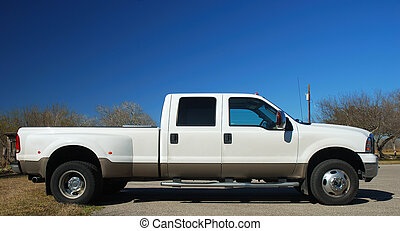 pick-up, camion