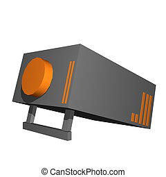 Projector Object For Diagram and Presentation
