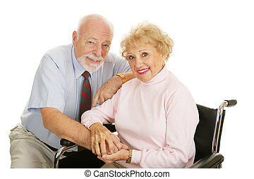 Senior Couple - Disability