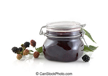Blackberry jam - blackberry compote