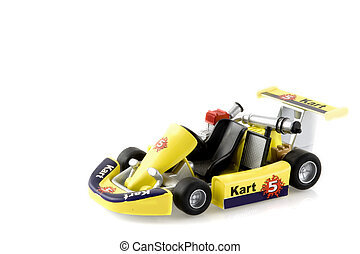 Karting - be a champion in a yellow kart