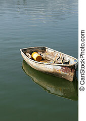 Dinghy Boat - A small dinghy boat