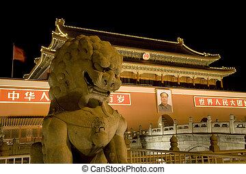Tiananmen Square Beijing - Tiananmen Square, Beijing, China...