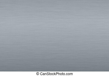 Gray metallic background - Roughly brushed, gray metallic...
