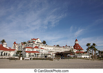 Hotel Del Coronado - Beautiful Hotel Del Coronado in San...