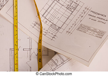 Project - Architecture designe planning of interiors with...