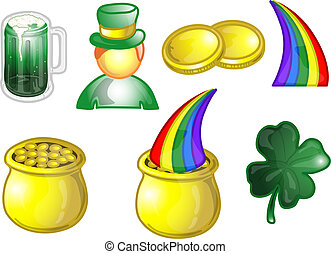 St.Patrick\\\\\\\'s Day icons