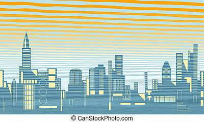Skyline - Illustration of a city skyline