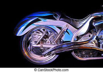 custom - rear end of custom bike