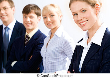 Business leader - Portrait of business leader with her...