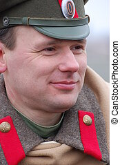 Russian officer 1918 - reenacting