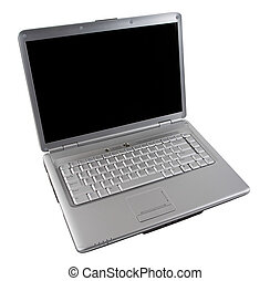 Notebook Computer - Wireless Silver Notebook Computer with...