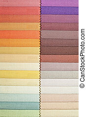 Fabric swatch 1 - Color swatch picker for fashion fabric...