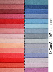 Fabric swatch 3 - Color swatch picker for fashion fabric...