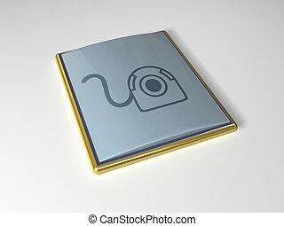 3d icon Web-Camera