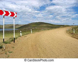 Olhon road