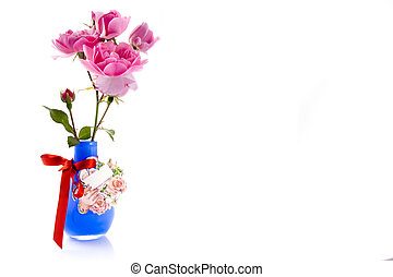 Congratulations - congratulations with a nice vase with...