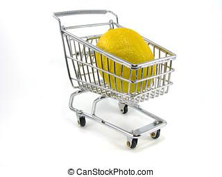 Lemon in Shopping Cart