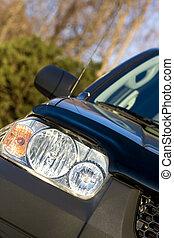 SUV close up