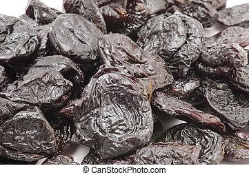 dried prunes macro