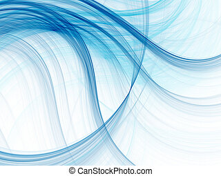 Wave texture - Abstract fractal background. Computer...