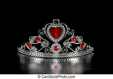 Tiara - Photo of a Tiara - Crown With Jewels