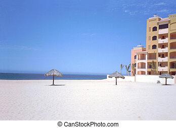 Cabo San Lucas Beach - Tropical beach in Cabo San Lucas,...
