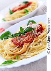 pastas, tomate, salsa