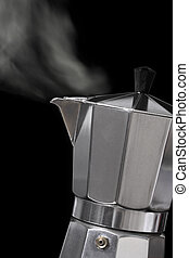 Moka express coffee maker - Image of an Italian Moka Express...