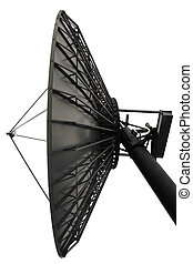 Parabol looking into space - A satelite dish checking things...